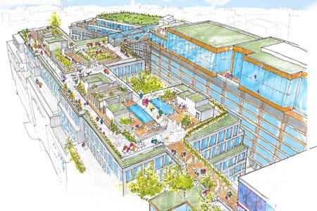 Stadsmiljön Rooftop ska stå öppen för allmänheten året runt.